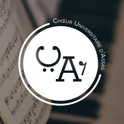 Logo choeur Universitaire d'Assas